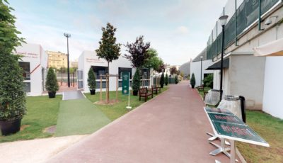 Jean Bouin / Roland Garros Practice Center – 2018 / EN