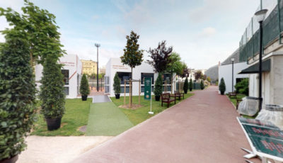 Jean Bouin / Roland Garros Practice Center – 2018 / Travail