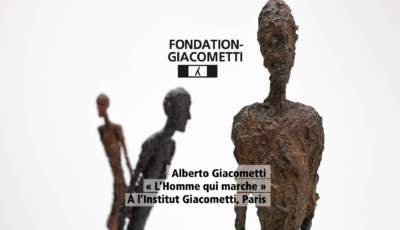 FONDATION GIACOMETTI – L'homme qui marche 3D Model